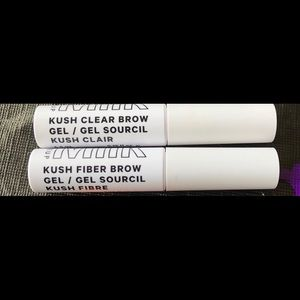 2 for 1 Kush Fiber brow gel & kush clear brow gel